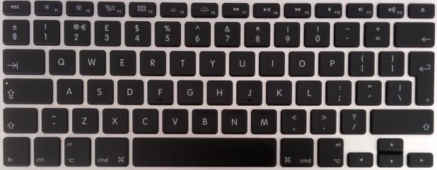 Macbook Pro UK Keyboard